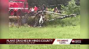 Small plane engulfed in flames after crash in Hinds County [Video]