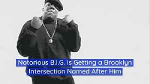 Notorious B.I.G. Is Respected In Brooklyn [Video]
