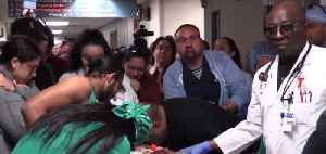 Hundreds lined halls at UMC for 18-year-old organ donor [Video]