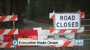 Evacuation Route Closed In The Foothills [Video]