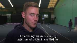 News video: Stuart Broad: This is England's 'best chance' to win the World Cup