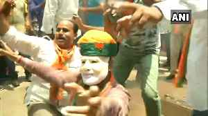 LS polls: People celebrate in Jaipur as BJP leads in Rajasthan [Video]
