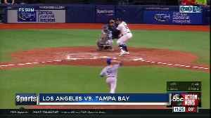 Kevin Kiermaier and Avisail Garcia lead Tampa Bay Rays to 8-1 win over Los Angeles Dodgers [Video]