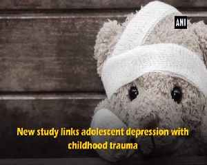 Trauma in childhood may lead to adolescent depression suggests study [Video]