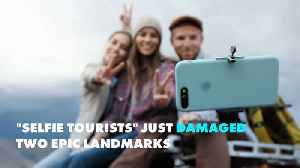 Is the selfie ruining travel for the rest of us? [Video]