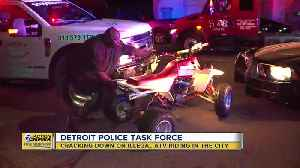 Detroit police task force cracking down on illegal ATV riding in city [Video]