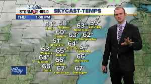 cGino Recchia NBC26 Weather Forecast [Video]