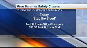 CPR, how to stop bleeding classes offered in Port St. Lucie [Video]
