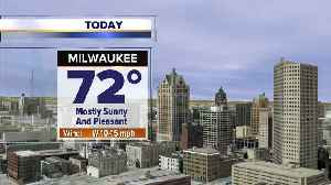 Mostly sunny, breezy, and warm Thursday [Video]