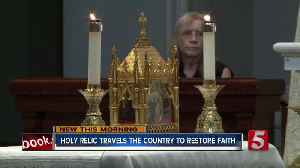 Catholic saint's heart visits Nashville cathedral [Video]
