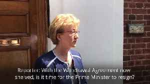 Andrea Leadsom: I have no doubts that I made the right decision [Video]