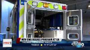 New UA EMS degree program to teach leadership skills [Video]