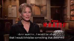 Renee Zellweger doesn't want to 'trivialise' things by tweeting about them [Video]