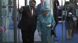 The Queen visits British Airways to mark centenary year
