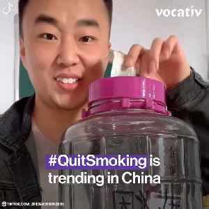 Young People are Trying to Stop Smoking Culture in China [Video]
