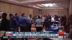 Job Fest makes its way to Taft [Video]