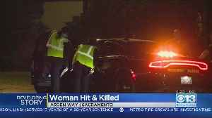 CHP: Woman Pushing Shopping Cart On Arden Way Struck, Killed By DUI Suspect [Video]