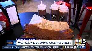 Deal of the Day: West Alley BBQ & Smokehouse [Video]