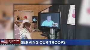 Serving Our Troops: Bringing Families Together For A Dinner Through International Video [Video]