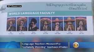 Language Teachers Blamed For 'Culturally Mocking' Yearbook Photos [Video]