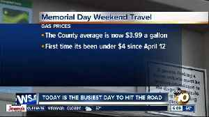 Today is the busiest day to travel for Memorial Day weekend [Video]