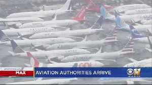 Aviation Officials Discussing 737 Max Jets At Dallas Meeting [Video]
