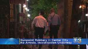 Center City Neighborhood On High Alert As Police Search For 2 Robbery Suspects [Video]