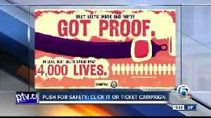 Summer Safety: Click It or Ticket [Video]