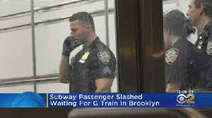Subway Passenger Slashed Waiting For G Train In Brooklyn [Video]