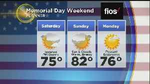 WBZ Midday Forecast For May 23 [Video]