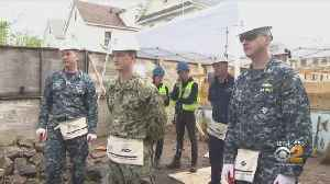 Service Members On Leave Helping Build Homes For New Yorkers [Video]