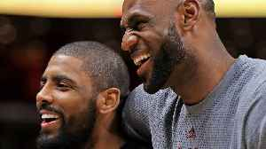 Kyrie Irving Talks To Kobe About REUNITING With LBJ As Celtics Owner Says He Thinks Kyrie's LEAVING [Video]