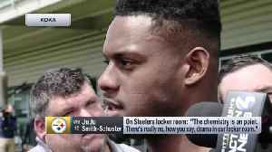 Pittsburgh Steelers wide receiver JuJu Smith-Schuster: Steelers' 'chemistry is on point' [Video]