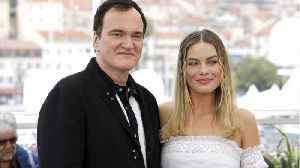 News video: Quentin Tarantino Dodges Hypothesis About Margot Robbie's Limited Role in 'Hollywood'