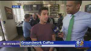 DeMarco Morgan, Suzanne Marques Host Free Coffee Event With Veterans [Video]