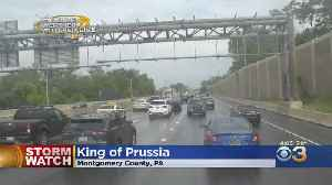 Mobile Weather Watcher In King Of Prussia Ahead Of Potential Severe Weather [Video]