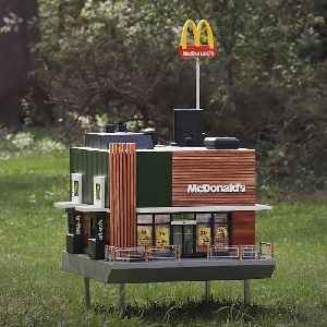 McDonald's opens tiny restaurant for bees [Video]