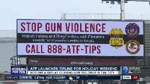 ATF offers up thousands of dollars for tips on gun crimes in Baltimore [Video]