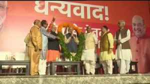 News video: India election: Modi secures second term