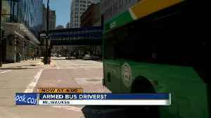 Union proposes arming MCTS bus drivers with guns [Video]