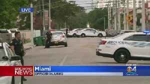 City Of Miami Officer Injured [Video]