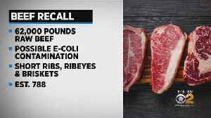 Beef Recall Over E. Coli Fears [Video]