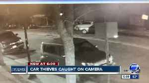 Video shows car owner confronting thieves [Video]