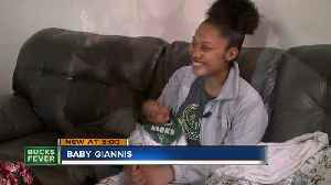 Babies starting to get named after Giannis [Video]