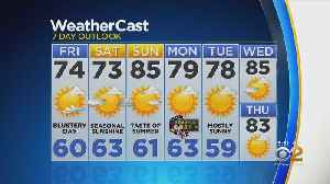 New York Weather: CBS2 5/23 Evening Forecast at 5PM [Video]