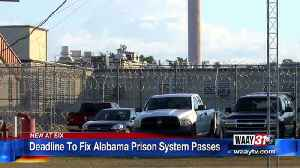 Deadline approaching for Alabama to show Department of Justice it's improving prisons [Video]