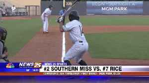 Conference USA Tournament: Southern Miss vs. Rice [Video]