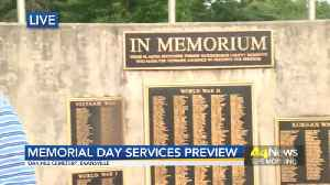 Memorial Day Ceremony Preview [Video]