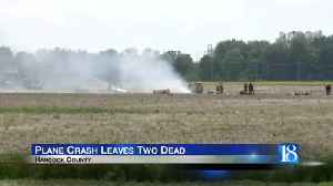 Police: 2 die in small plane crash near Indianapolis [Video]