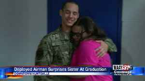 Huntsville High School grad gets surprise from brother in Air Force [Video]